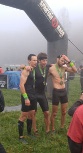 the first 3 elite men's beast finishers