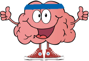 happy brain that loves to exercise!